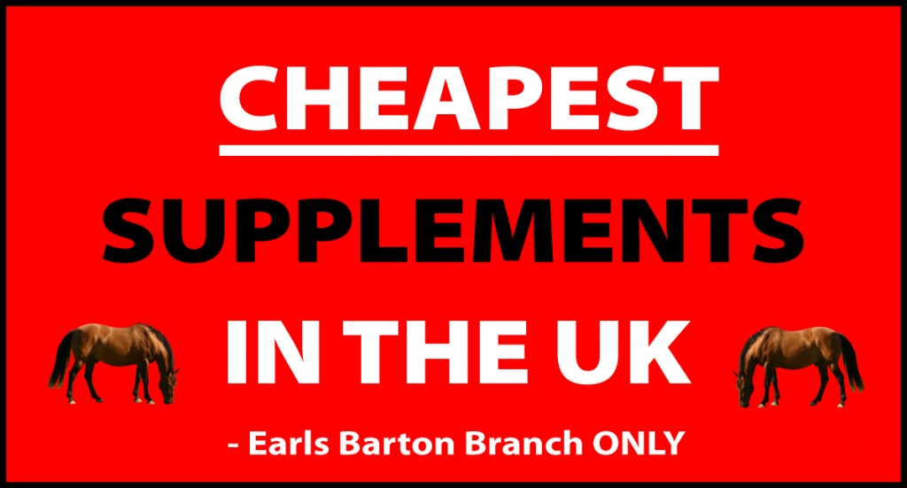 Cheapest Horse Supplement Promotion