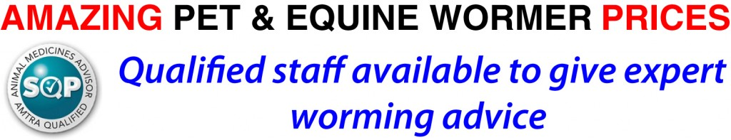 Amazing Pet and Equine Wormer Prices
